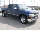 2002 Indigo Blue Metallic Chevrolet Silverado 1500 LS Extended Cab #27544412
