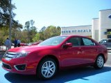 2010 Sangria Red Metallic Ford Fusion SEL V6 #27544149