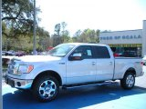 2010 Ingot Silver Metallic Ford F150 Lariat SuperCrew 4x4 #27544153