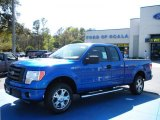 2010 Blue Flame Metallic Ford F150 STX SuperCab #27544159