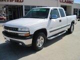 2001 Summit White Chevrolet Silverado 1500 LS Extended Cab 4x4 #27544651