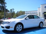 2010 White Suede Ford Fusion SE #27544165