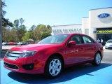 2010 Sangria Red Metallic Ford Fusion SE #27544167