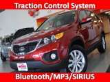 2011 Spicy Red Kia Sorento EX #27544284
