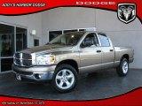 2008 Light Khaki Metallic Dodge Ram 1500 Big Horn Edition Quad Cab #27544025