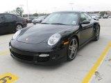 2007 Black Porsche 911 Turbo Coupe #27544668