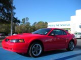 2002 Torch Red Ford Mustang GT Coupe #27544174