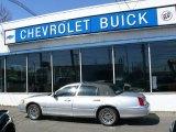 2000 Silver Frost Metallic Lincoln Town Car Cartier #27544192