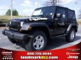 2010 Black Jeep Wrangler Sport Islander Edition 4x4 #27544310