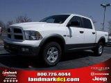 2010 Stone White Dodge Ram 1500 TRX4 Crew Cab 4x4 #27544319