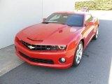 2010 Inferno Orange Metallic Chevrolet Camaro SS Coupe #27544889