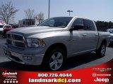 2010 Light Graystone Pearl Dodge Ram 1500 Big Horn Crew Cab #27544321