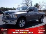 2010 Mineral Gray Metallic Dodge Ram 1500 Big Horn Quad Cab #27544324