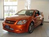 2007 Sunburst Orange Metallic Chevrolet Cobalt SS Supercharged Coupe #27544457