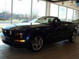 2007 Vista Blue Metallic Ford Mustang GT Premium Convertible #27544458