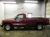 2005 Sport Red Metallic GMC Sierra 1500 SLE Regular Cab 4x4 #27544461
