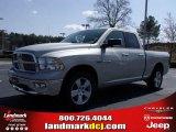 2010 Light Graystone Pearl Dodge Ram 1500 Big Horn Quad Cab #27544332