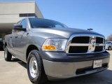 2010 Mineral Gray Metallic Dodge Ram 1500 ST Quad Cab 4x4 #27544734