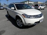 2007 Glacier Pearl White Nissan Murano S AWD #27544469