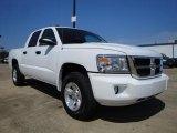 2010 Stone White Dodge Dakota ST Crew Cab #27544739