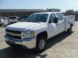 2010 Chevrolet Silverado 2500HD Crew Cab 4x4 Utility Truck Data, Info and Specs