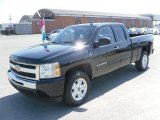 2010 Black Chevrolet Silverado 1500 LT Extended Cab 4x4 #27544933