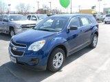 2010 Navy Blue Metallic Chevrolet Equinox LS #27544934
