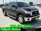 2008 Black Toyota Tundra SR5 Double Cab 4x4 #27625498