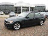 2008 Deep Green Metallic BMW 3 Series 328i Sedan #27625801