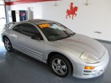 2003 Sterling Silver Metallic Mitsubishi Eclipse GS Coupe #27624968
