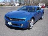 2010 Aqua Blue Metallic Chevrolet Camaro LT/RS Coupe #27624990