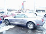 2007 Tungsten Grey Metallic Ford Mustang V6 Premium Convertible #27625447