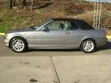 2004 Silver Grey Metallic BMW 3 Series 325i Convertible #27625666