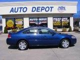 2006 Laser Blue Metallic Chevrolet Impala LT #27625305