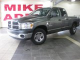 2008 Mineral Gray Metallic Dodge Ram 1500 SXT Quad Cab #27625483