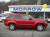 2006 Inferno Red Crystal Pearl Jeep Grand Cherokee Laredo 4x4 #27625310