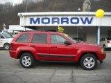 2006 Inferno Red Crystal Pearl Jeep Grand Cherokee Laredo 4x4 #27625310