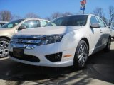 2010 White Platinum Tri-coat Metallic Ford Fusion SEL #27626148