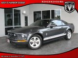 2007 Alloy Metallic Ford Mustang V6 Premium Coupe #27625146