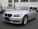 2007 Titanium Silver Metallic BMW 3 Series 335i Coupe #27626168
