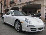 2007 Carrara White Porsche 911 Targa 4S #27625338