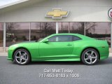 2010 Synergy Green Metallic Chevrolet Camaro LT Coupe Synergy Special Edition #27625937