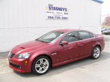 2009 Sport Red Metallic Pontiac G8 Sedan #27626180
