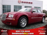 2008 Inferno Red Crystal Pearl Chrysler 300 C HEMI #27625386