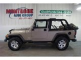 2006 Light Khaki Metallic Jeep Wrangler Unlimited 4x4 #27626256
