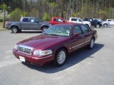2009 Dark Toreador Red Metallic Mercury Grand Marquis LS Ultimate Edition #27625976