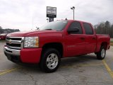 2010 Victory Red Chevrolet Silverado 1500 LT Crew Cab #27625557