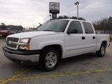 2005 Summit White Chevrolet Silverado 1500 LS Crew Cab #27625558