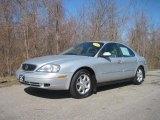 2000 Silver Frost Metallic Mercury Sable GS Sedan #27626007