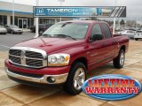 2006 Inferno Red Crystal Pearl Dodge Ram 1500 SLT Quad Cab #27626384